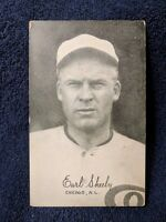 1922 Exhibits Earl Sheely CHICAGO WHITE SOX