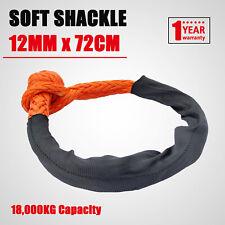 Soft Shackle 12mm 72cm Recovery Gear Dyneema Winch Rope 18T(18,000kg) Heavy Duty