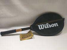Wilson Advantage Vintage Wood Tennis Racket - Grip 4 1/2 - NEW