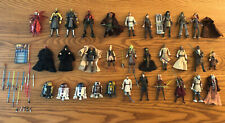 Star Wars The Clone Wars Jedi Sith Action Figure Lot  Star War Collectibles