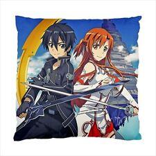 Sword Art Online SAO Pillow Cushion Case Free Shipping Anime Gift Kirito Asuna