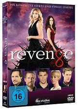 REVENGE DIE KOMPLETTE VIERTE STAFFEL / FINALE SEASON 4 DVD DEUTSCH