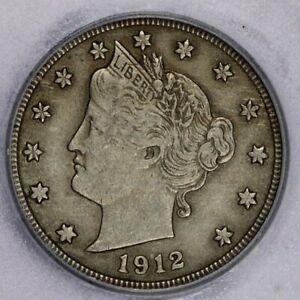1912-D 1912 Liberty Nickel ICG-EF45