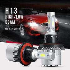 H13 9008 200W 20000LM Philips COB LED Headlight Kit High Low Beam Bulbs vs 120W
