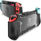 TPU Grip Protective Dockable Cover Case Blade Series For Nintendo Switch - Black