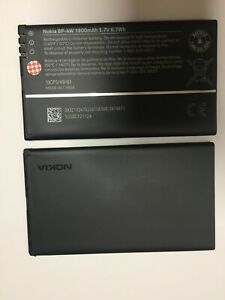 2-Pack NEW OEM BP-4W Genuine Battery For Verizon Nokia Lumia 822