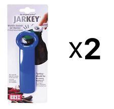 Brix JarKey Jar Opener for Vacuum-Seal Jars - Assorted Colors (2-Pack)