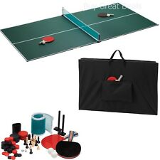 Portable Ping Pong Indoor Outdoor Tennis Table Top Set   NEW