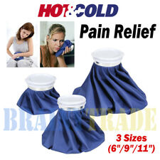 """3 Pack Healthcare Ice Bag for Hot Cold Therapies Sport Pain Relief 11""""9""""6"""""""