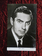 TYRONE POWER  - FILM STAR - THE PEOPLE SHOW PARADE POSTCARD- P1054