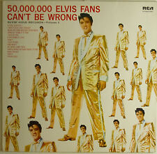 "12"" LP - Elvis Presley - 50,000,000 Elvis Fans Can't Be Wrong - k5356"