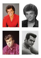 4 Country Music Singer Conway Twitty 5 x 7 / 5x7 GLOSSY 4 Photo Picture LOT
