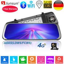 10 Zoll Junsun ADAS 4G Android5.1 Auto DVR Dashcam Backup Kamera rückfahrkamera