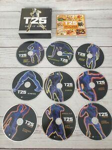 Beachbody Focus T25 Alpha + Beta Get It Done Workout Replacement DVD's