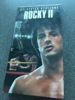 NEW/SEALED VHS MOVIE - ROCKY II (1979) - SYLVESTER STALLONE, TALIA SHIRE