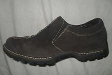COLE HAAN WOMENS Waterproof Suede Brown Slip-On clogs Loafers Shoes 7 B