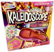 Kaleidoscope Projector Childrens Torch Night Light Colourful Pattern Maker 6997