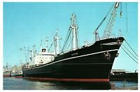 Vessels from Duluth Superior Harbor St Lawrence Seaway Postcard
