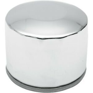 Drag Specialties - 140004-BX29 - Spin-On Oil Filter, Chrome