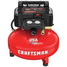 CRAFTSMAN 6 Gallon Single Stage Portable Electric Pancake Air Compressor Compact