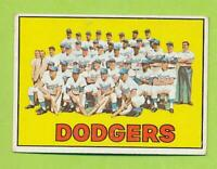 1967 Topps - Los Angeles Dodgers Team Card (#503)