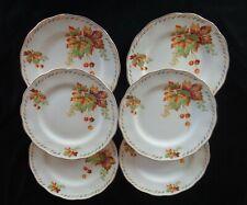 Vintage Grindley England Creampetal Side Plates x 6 *Bundarra Pattern
