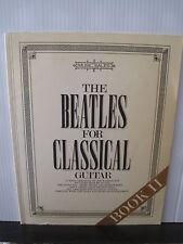 THE BEATLES For Classical Guitar Book II Joe Washington SHEET MUSIC Free UK Post