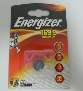 Energizer CR1632  3V Lithium Battery