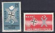 Turkye postfris 1962 MNH 1830-1831 - Turkye 10 jaar in Nato