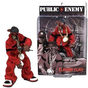 Public Enemy Rap Stars Flava Flav Action Figure