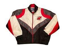 Vintage Pro Player New Jersey Devils XXL 2XL NHL Mesh Jacket Hockey Windbreaker
