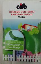 CIFO CONCIME ANTIMUSCHIO CON FERRO E MICROELEMENTI MUSTOP 1 KG PER MQ.50
