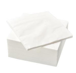 IKEA FANTASTISK, Paper napkin,  50 Pack ,  24 x 24 cm - new,