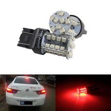2x LED AMPOULES ROUGE STOP FREIN ARRIÈRE VOITURE 40 SMD T20 582 W21W 580 W21/5W