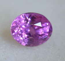 Certified Unheated Natural Pink Sapphire 1.41ct