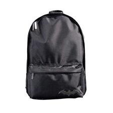Batman Backpack DC Comics Rucksack Bookbag Black Polyester Adjustable NWT