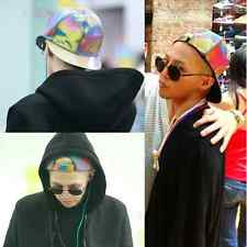 Bigbang G-dragon Color Changing Snapback BACK TO THE FUTURE Cap MARTY MCFLY Hat