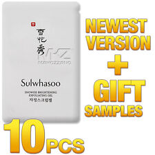 Sulwhasoo Snowise Brightening Exfoliating Gel 10pcs 40ml Amore Pacific Newest