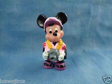 """Disney Applause Tourist Mickey Mouse w/ Camera PVC Figure or Cake Topper 2 1/4"""""""