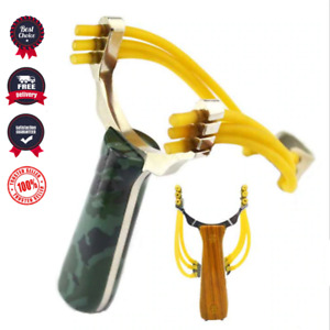 Slingshot Outdoor Hunting Catapult Sling Shot Games Tool Aluminium Playing Toy