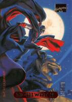 NIGHTWATCH / 1994 Marvel Masterpieces (Fleer) BASE Trading Card #85
