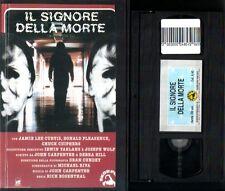 VHS HALLOWEEN II 2:IL SIGNORE DELLA MORTE*horror RARO SKORPION*(Buone C-Ex Nolo)