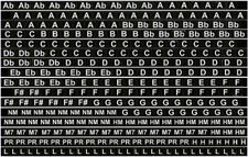 Richard Sleigh Harmonica Key Labels