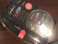 DENMAN PRO EDGE FOR PRECISE CUTTING COMB WITH INSTRUCTIONAL DVD