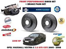 pour Opel Vectra 3.0 GTS 2005- > avant Performance Kit Disque frein + Plaquettes