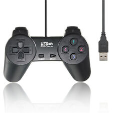 Wired USB 2.0 Game Controller Gamepad Joystick Joypad para PC Laptop Computer