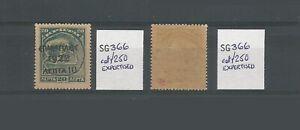 Greece 1923 Cretan Stamp Overprinted & Surcharged 10l On 20l UMM SG 366