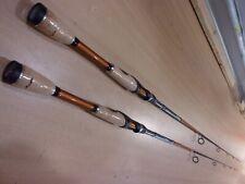 2 Berkley Lightning Rod Shock 6 foot 6 inch Medium Spinning Rods model# Shs661M