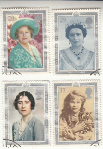 Great Britain 1990 Queen Mother 90th Birthday. Used