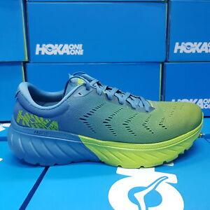HOKA 1099721/SBLG MACH 2,STORM BLUE/LIME GREEN